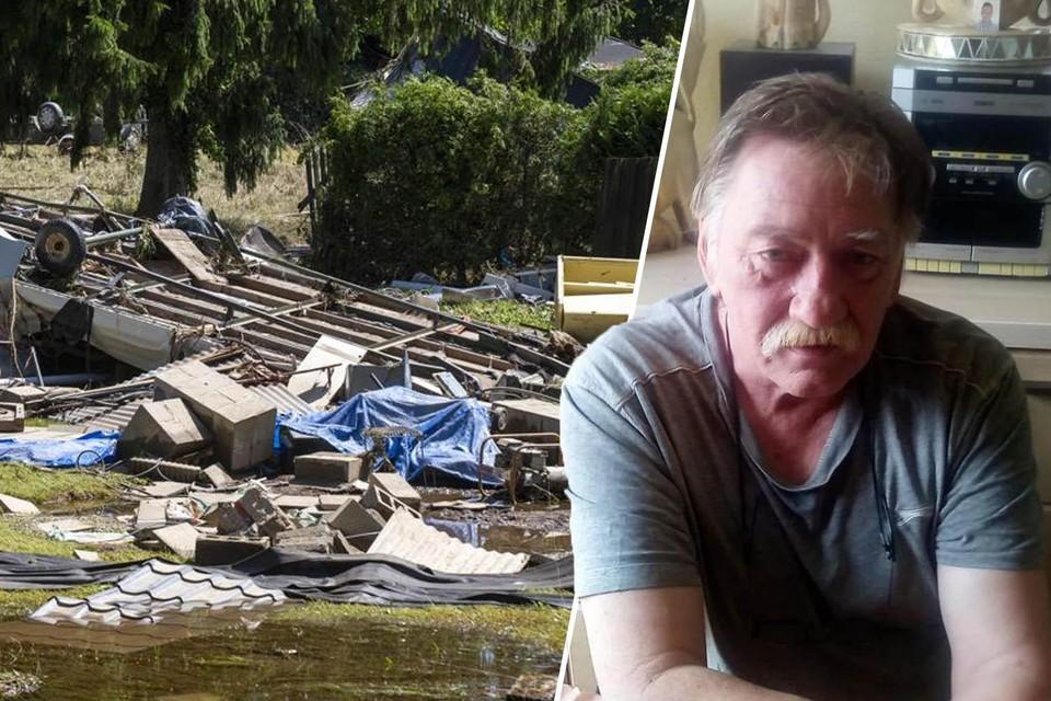 Daniël verdween tijdens de overstromingen op de camping in Mery.