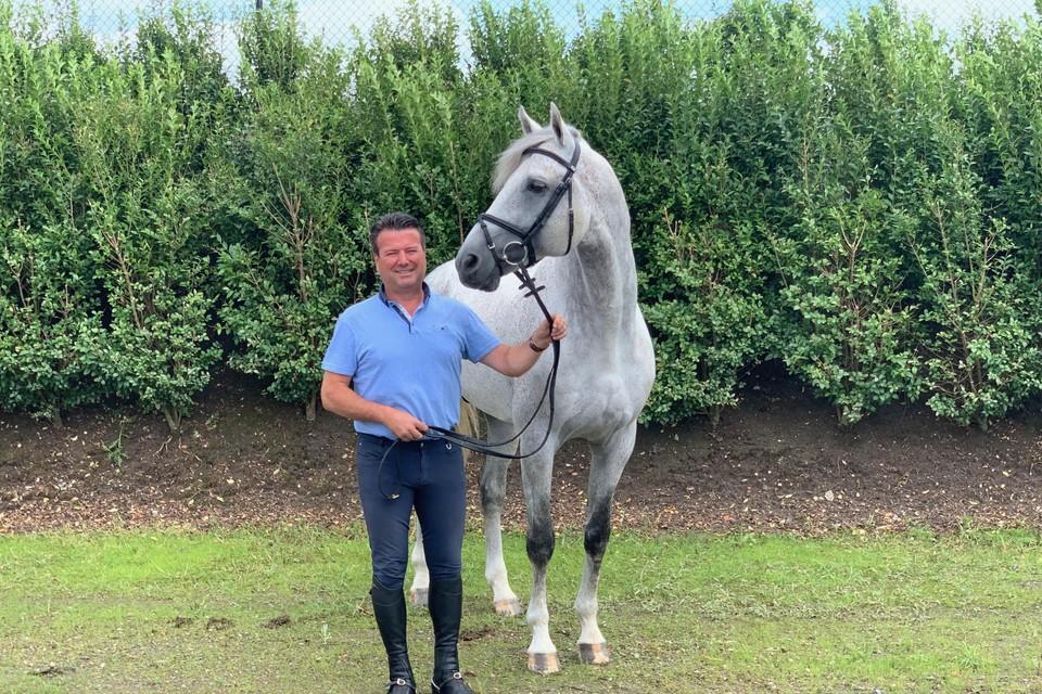 Kurt heeft de smaak opnieuw te pakken en heeft met Quinlan Z een nieuw paard onder het zadel.