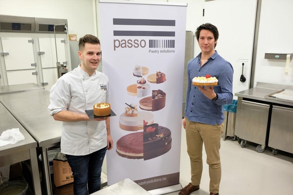 Jens Van Bouwel en Serge Lamoral van Pastry Solutions.