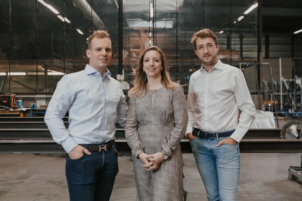 Anky Van Wesenbeeck en Nick Van Linden gaan in zee met Wannes Kuyps om hun bedrijf Steel Dreams verder uit te bouwen.