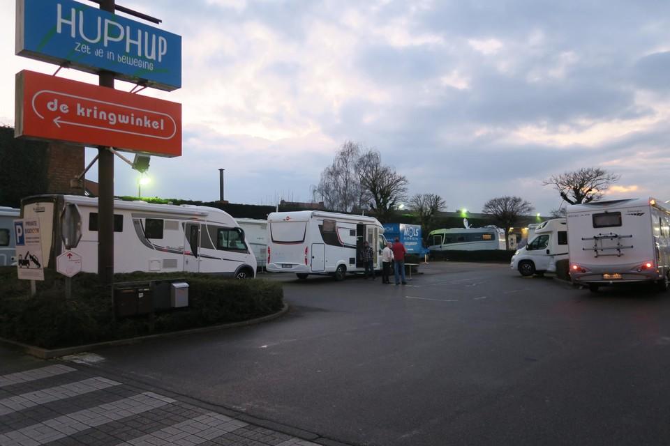 De semipublieke parking in de Venstraat liep de voorbije weken geregeld goed vol voor de camper-formule van Pot au Feu.