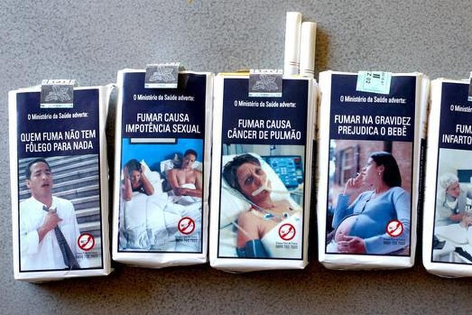De 35-jarige Rus werd opgepakt op verdenking van een handeltje in sigaretten zonder takszegel.