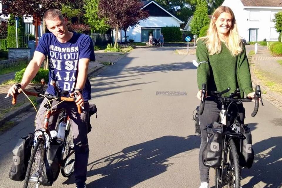 Voor Hans Blommaert en Katinka Theuns kan het niet snel genoeg zondag zijn wanneer ze aan hun tocht van 2.000 kilometer beginnen.