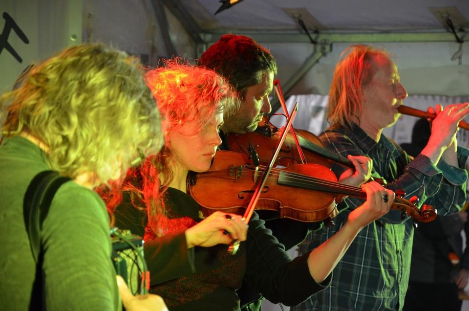Jeremy Vervoort en zijn band Twalseree