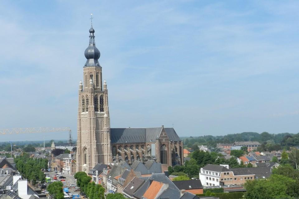 De Sint-Katharinakerk maakt deel uit van het traject van de Urban Run.