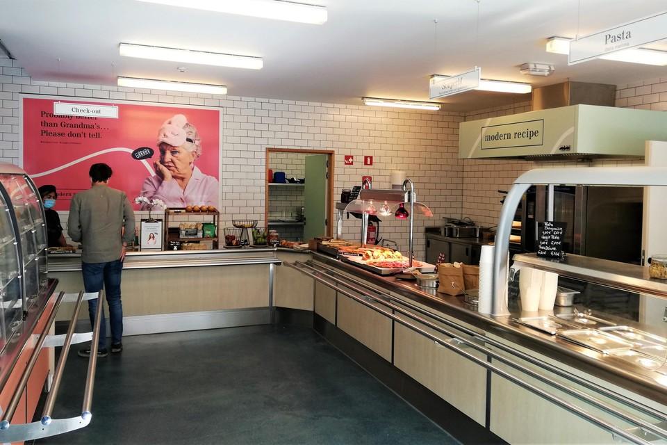 Het pizza- en pastarestaurant op Campus Kruidtuin.