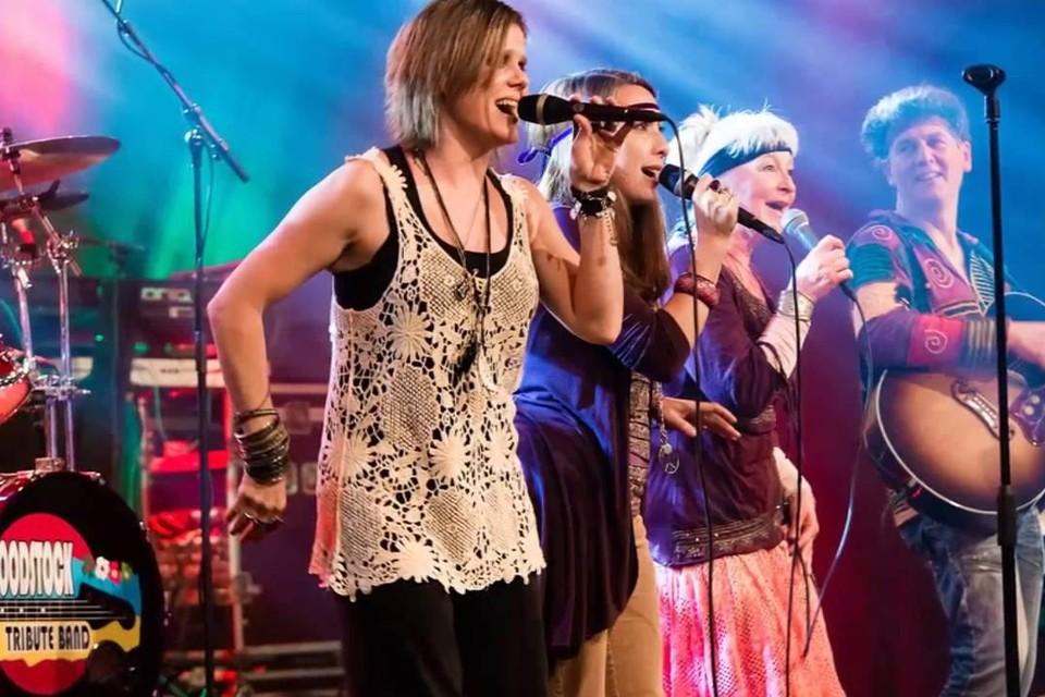 The Woodstock Tribute Band op Hoekstock.