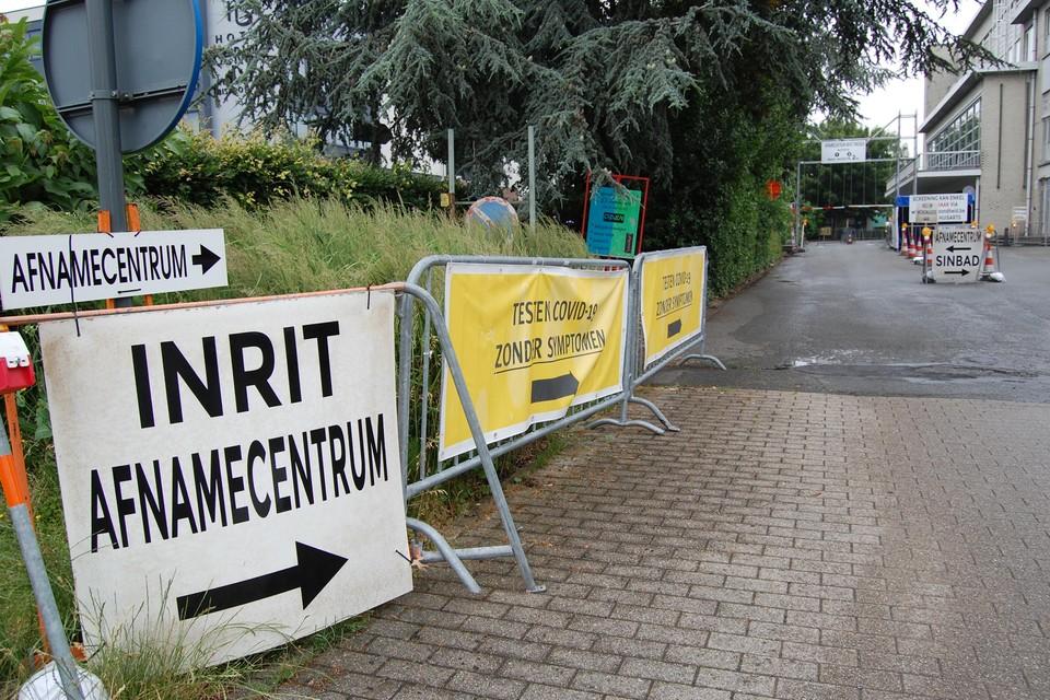 Het afnamecentrum Sinbad in Sint-Niklaas blijft operationeel.