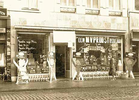 De authentieke kruidenier van de familie Proost.