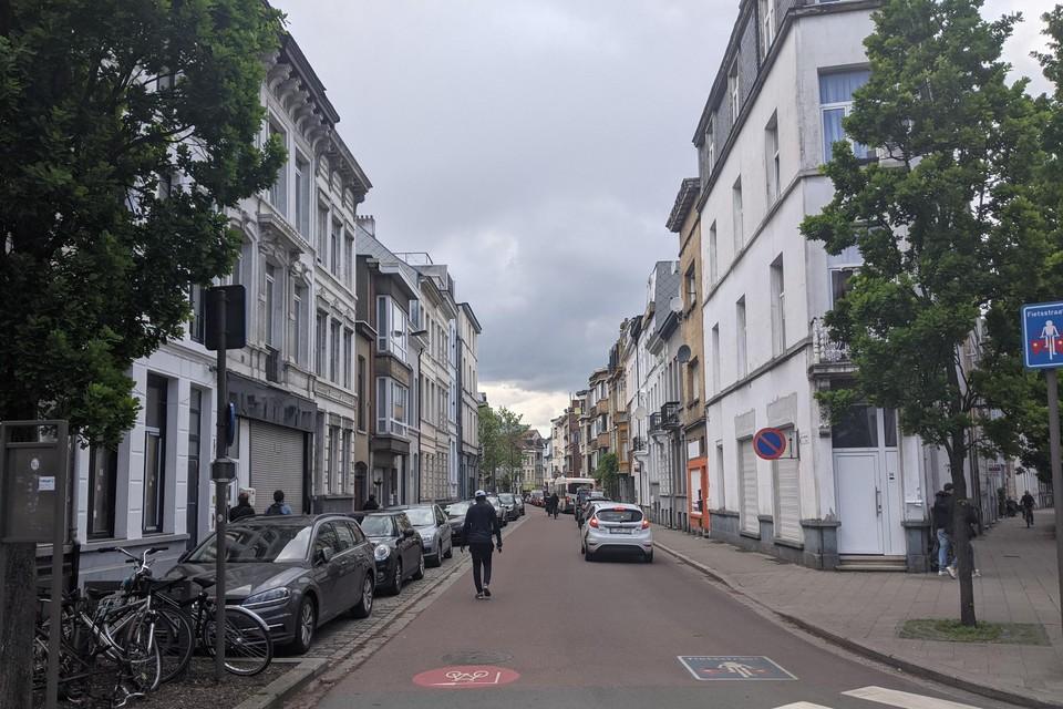 De Rotterdamstraat is een van de fietsstraten..
