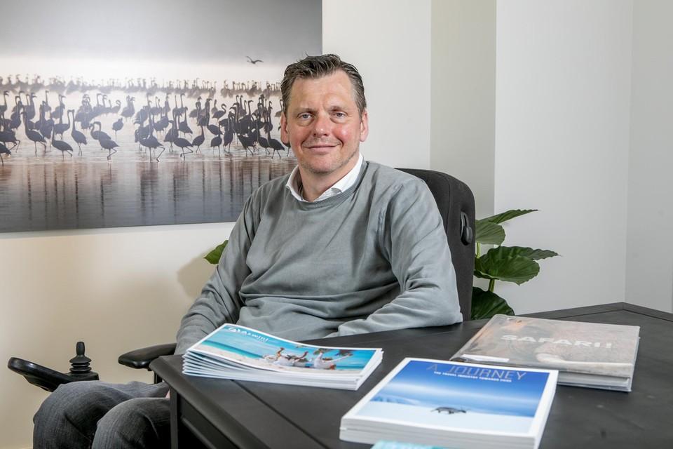 Kristof Steegmans van WeTravel2 is de man achter de Mechelse citytrips voor mensen met een fysieke beperking.