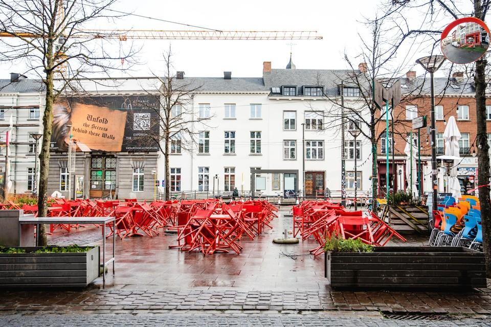 Het Mechelseplein in Antwerpen.