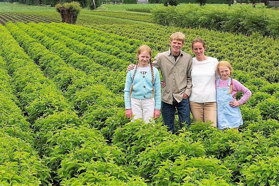 Familie Stevens verwelkomt zondag bezoekers