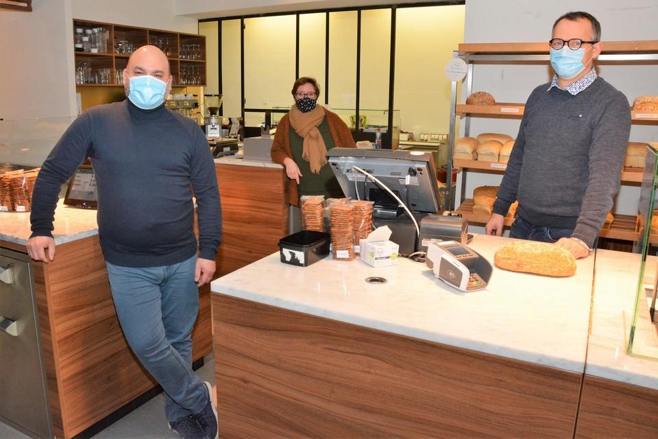 Greg De Schutter  laat zijn bakkerij en verbruikszaal over aan Jimmy Van den Panhuysen (45) en Elke Van den Plas (36).