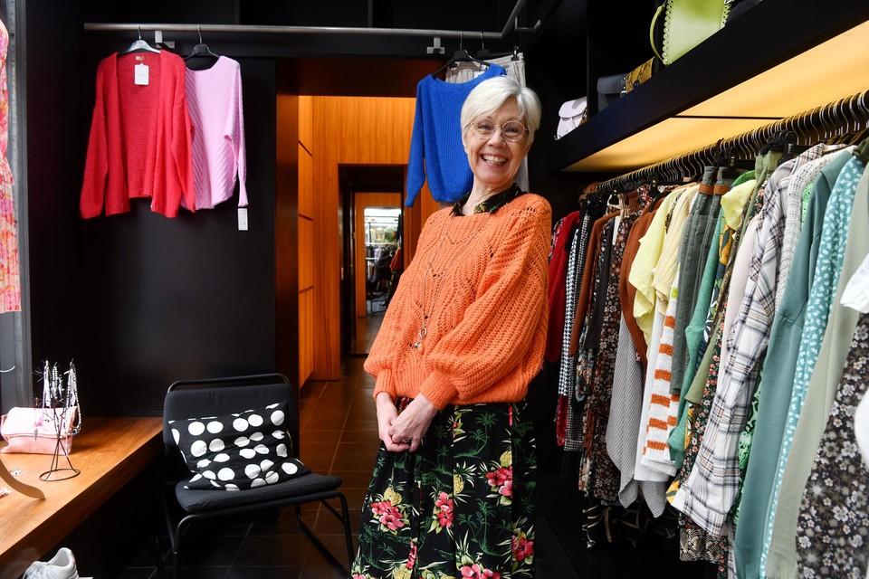 Annemie Schelkens opende in maart haar kledingwinkel aan de Oever.