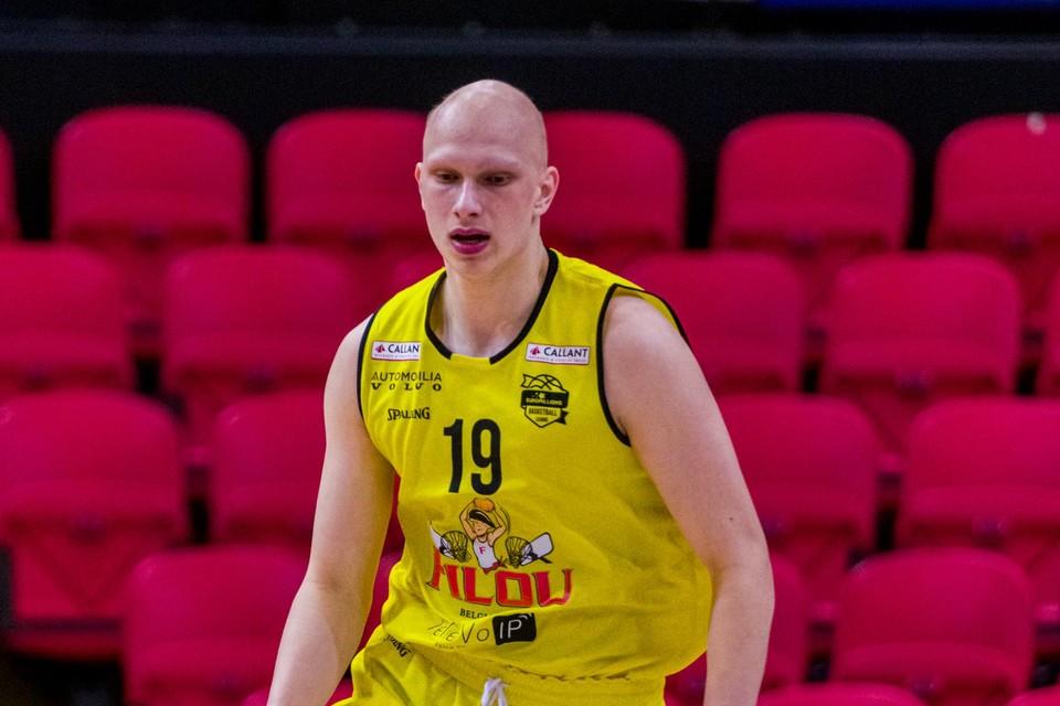 Quinten Smout mocht dit seizoen bij Oostende zijn debuut maken in de Euromillions League.