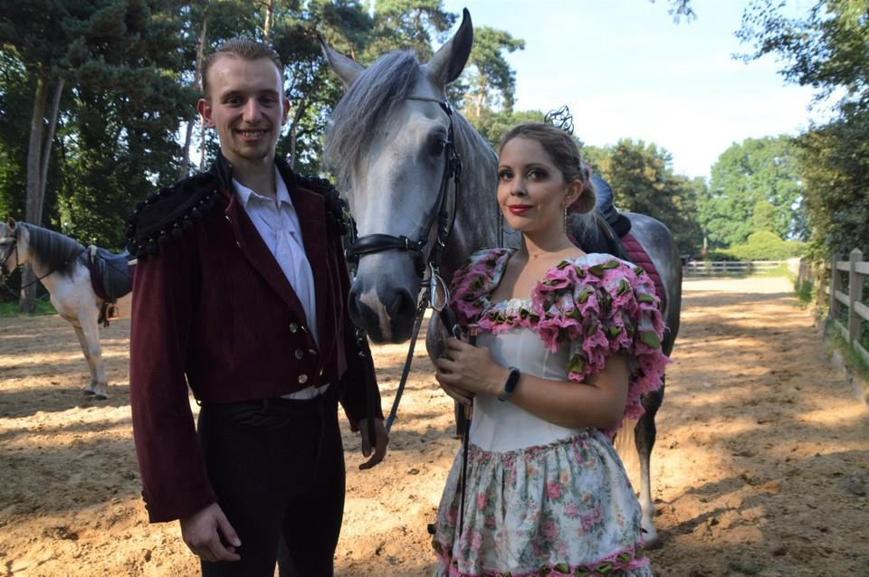 Dancing with Horses is ook wat sprookjesachtig.