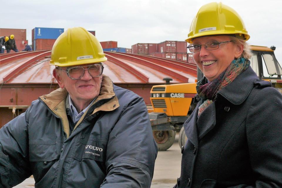 Ward Ivens bleef tot hoge leeftijd actief op de werkvloer, terwijl dochter Greet het bedrijf toen leidde.