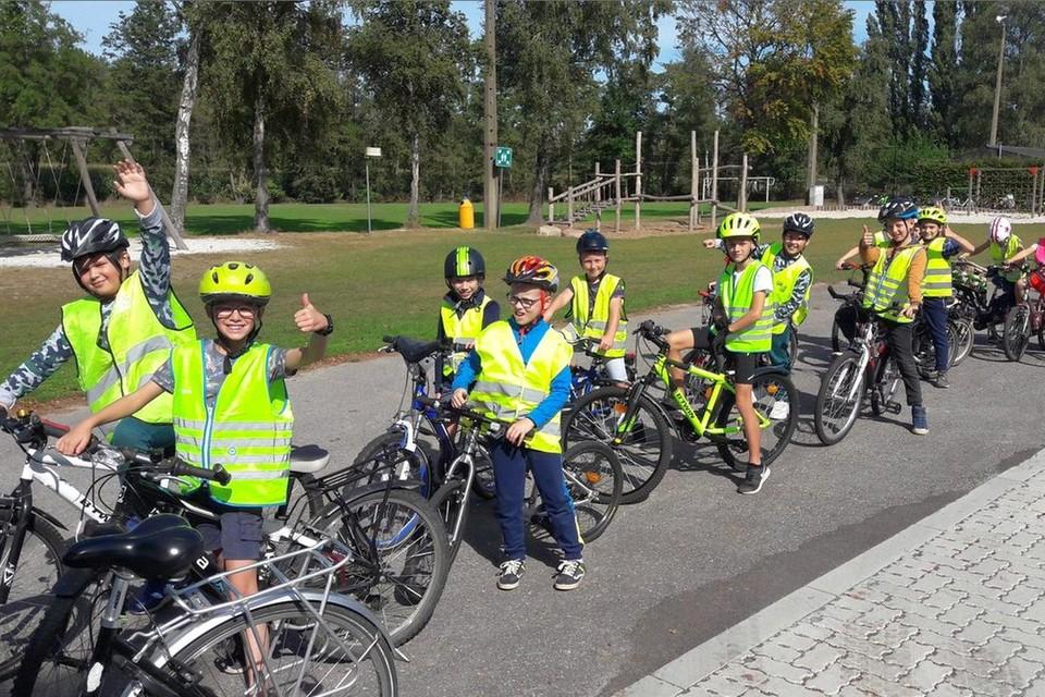 Na de schoolkinderen van De Burgstraat kunnen ook die van Top@Punt (foto) hun zegje over hun veilige schoolomgeving doen.