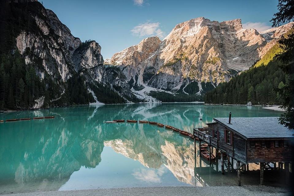 Meer van Braies, Zuid-Tirol -©IDM Südtirol, ph. Harald Wisthaler