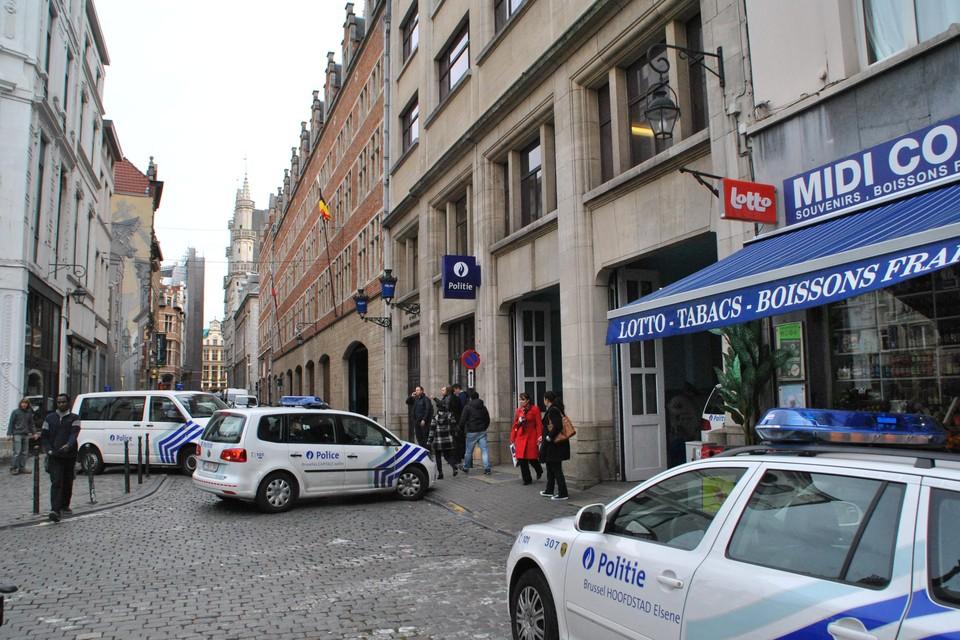 Het hoofdcommissariaat van de Brusselse politie.