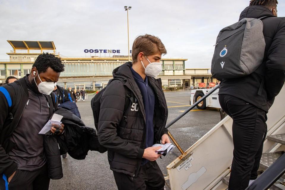 De Ketelaere was ziek, maar testte negatief en reist mee naar Oekraïne.