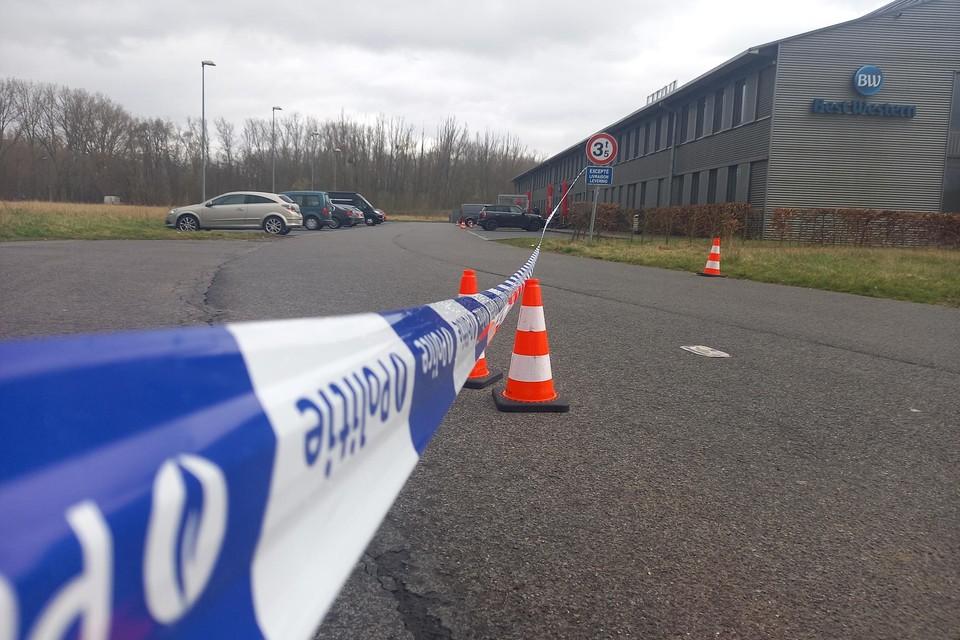 De crime scene: een Best Western-hotel in het Vlaams-Brabantse Ruisbroek.