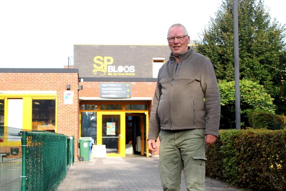 Willy gaf 40 jaar les in de lagere school in Zevendonk.