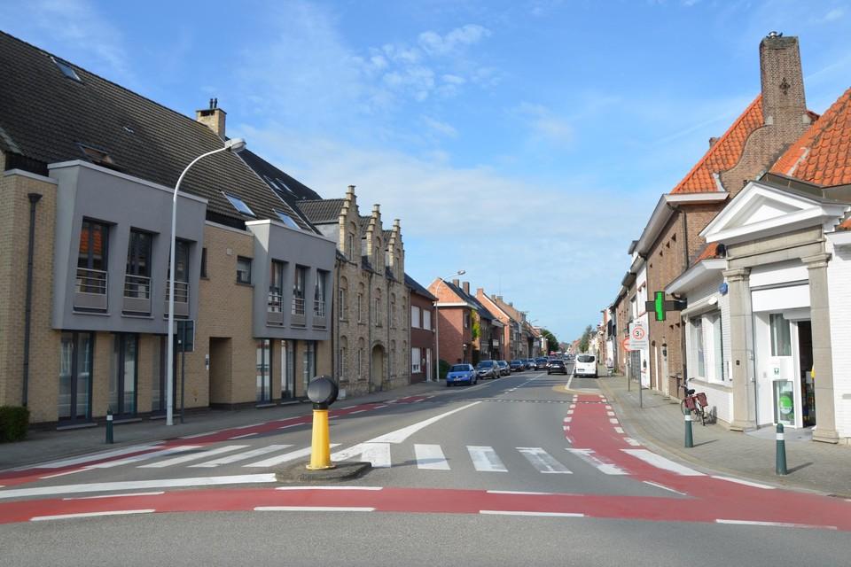 Pidpa werkt van maandag 16 augustus tot maandag 23 augustus in het gedeelte tussen de rotonde en het kruispunt met de Kapellebaan.