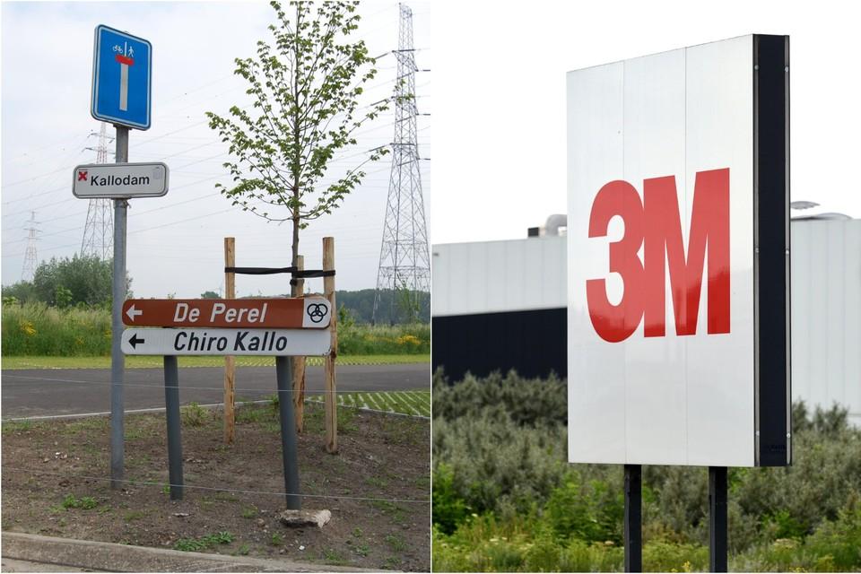 De Chirolokalen van Kallo liggen op minder dan vijf kilometer van de 3M-fabriek. Ook daar werden stalen afgenomen op zoek naar PFOS in de bodem.