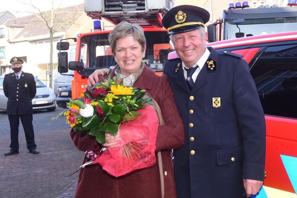 Jef Van Accom en zijn vrouw Lil waren onder de indruk van het afscheid.