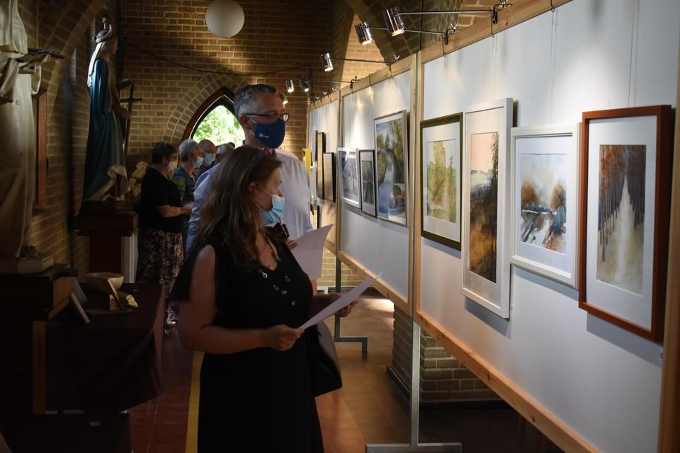 De tentoonstelling werd vrijdag officieel geopend.