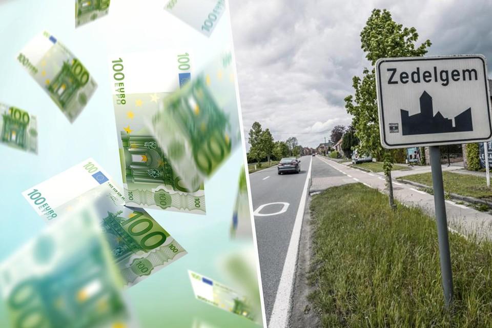 In 2013 viel er haast een miljoen euro cash te rapen in de straten van Zedelgem.