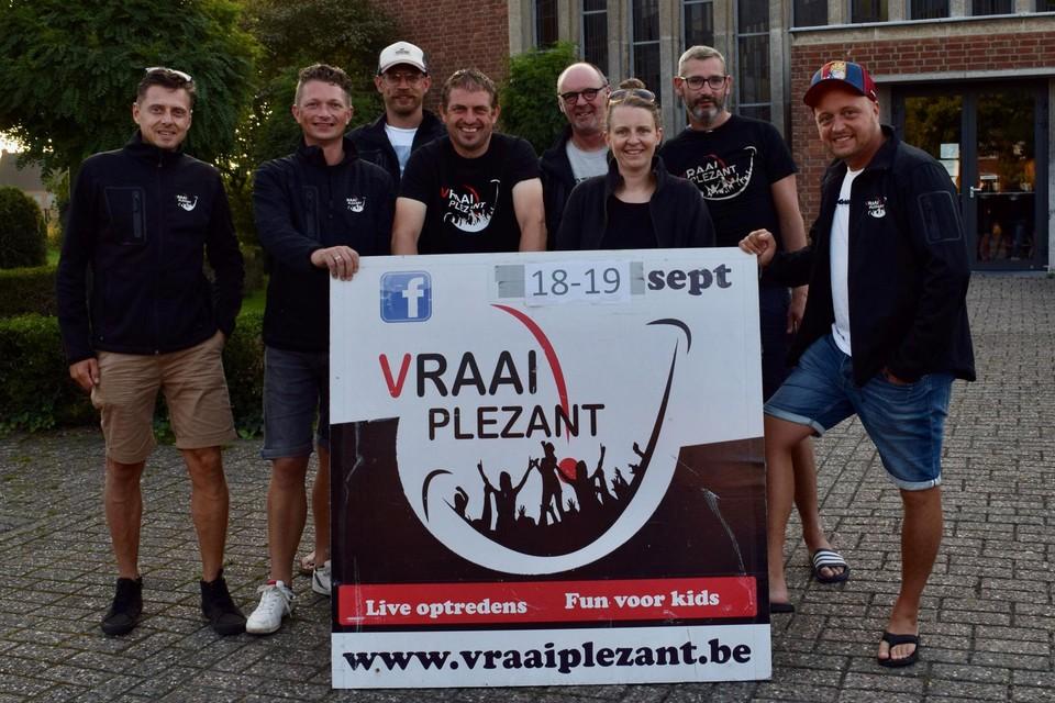 """Omdat het de tiende editie van Vraai Plezant is, willen de organisatoren er """"iets speciaals"""" van maken dit jaar."""
