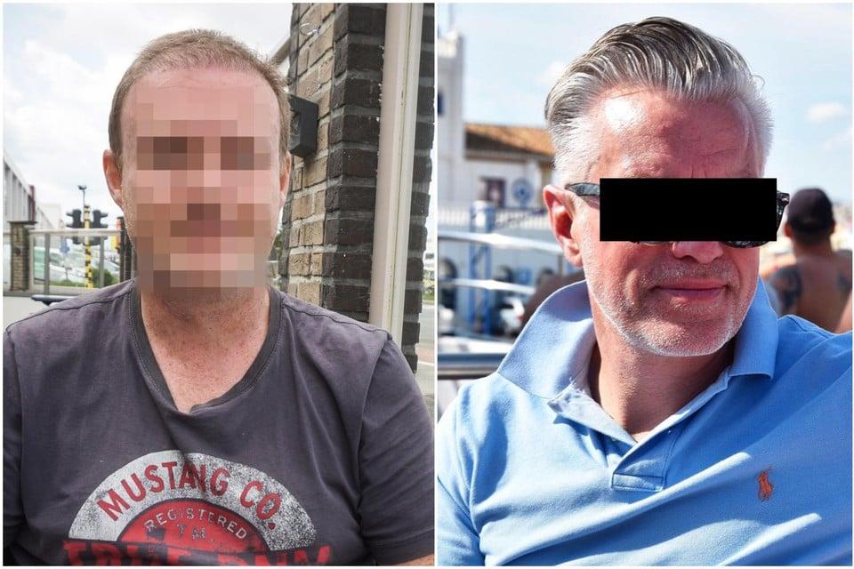 Slachtoffer Steve. Rechts: Petrus Leistra.