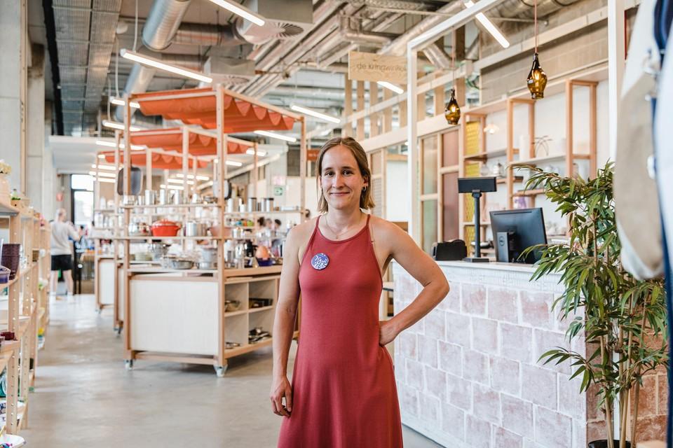 Louise Vrints van De Kringwinkel.