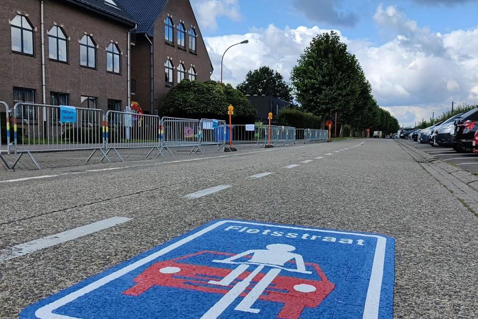 De Torfsstraat is voortaan een fietsstraat.