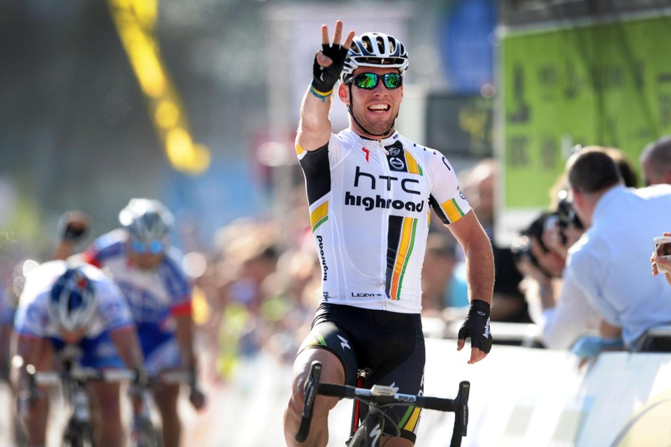 Cavendish wint in 2011 zijn derde Scheldeprijs.