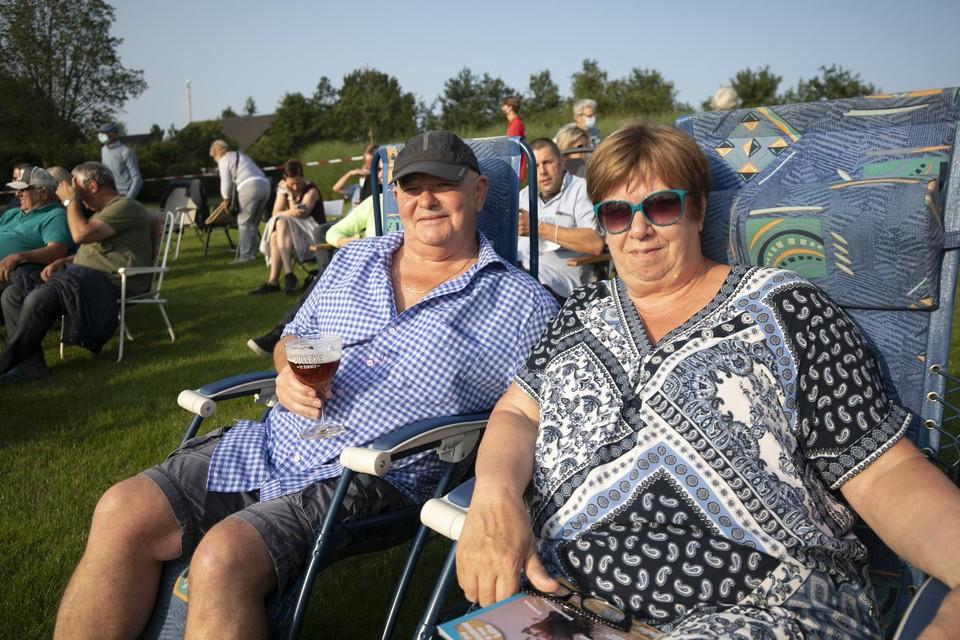 Diane en Patrick De Witte zijn vaste klanten van de Verklapt-avonden.