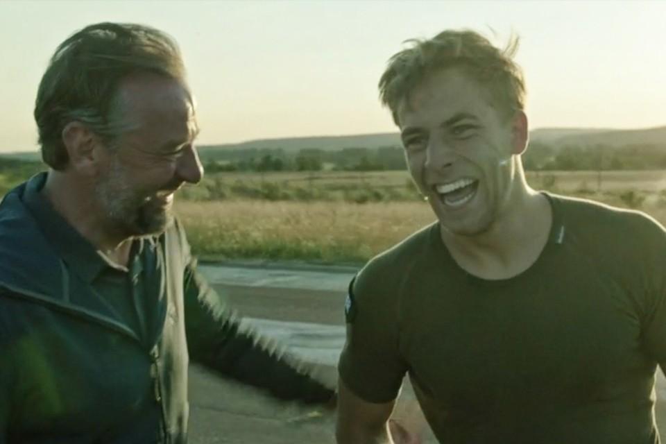 Tom Waes en Zeger Van Noten in 'Kamp Waes'.