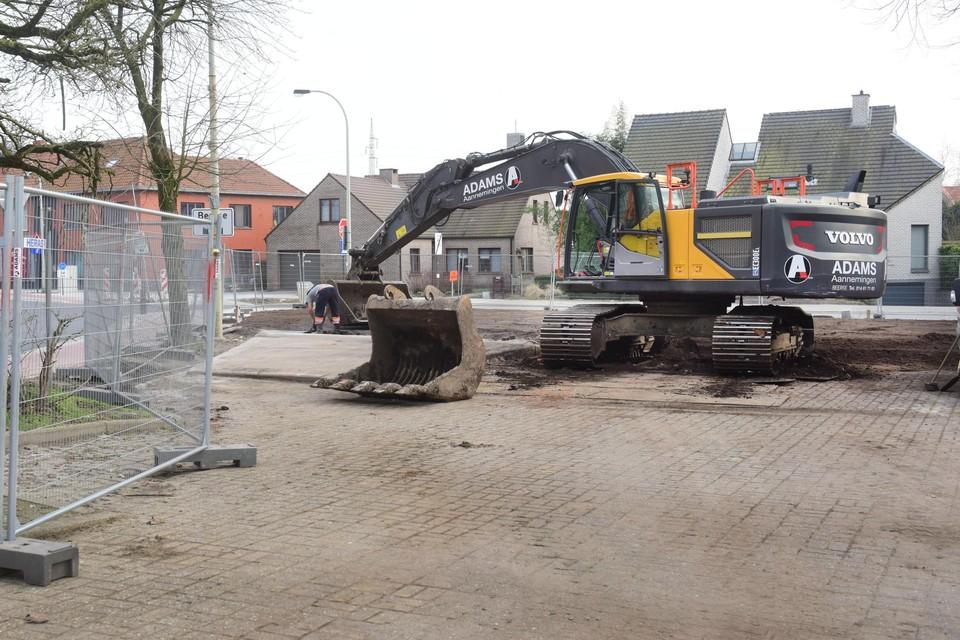 Op de plaats waar café Het Leste Nieuws stond, wil de gemeente een parkje ontwikkelen.