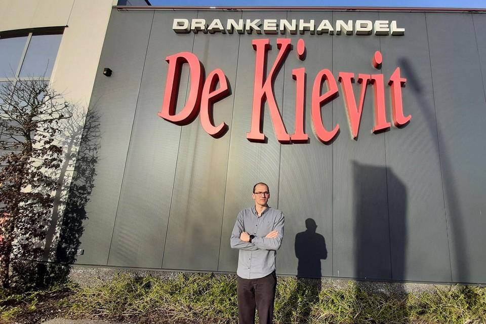 Bestuurder Ruben Devrieze van AsterX Dranken.