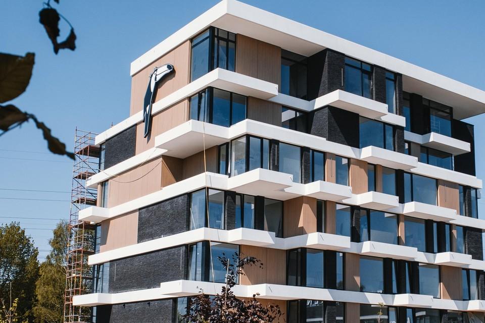 De nieuwbouw van Hotel Beveren is klaar na twee jaar.