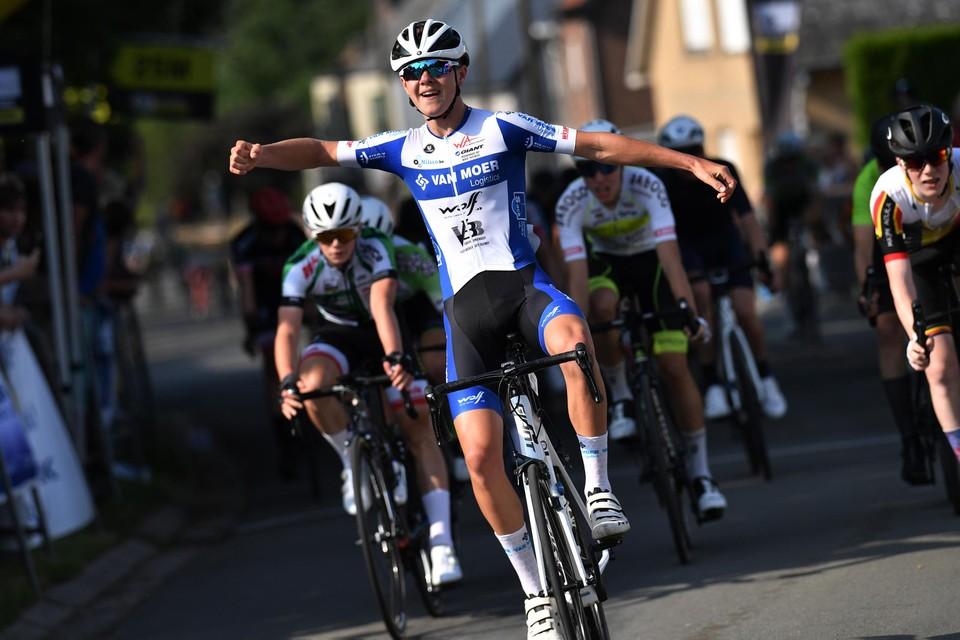 Toon De Zutter was de snelste bij de U15.