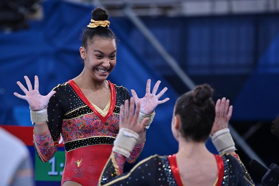 De Mechelse turnster Jutta Verkest staat donderdag in de allroundfinale gymnastiek op de Olympische Spelen in Tokio.