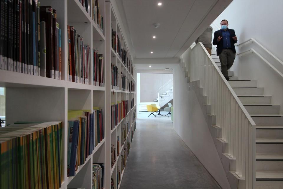 Ook de nieuwe bibliotheek van Edegem is even gesloten.