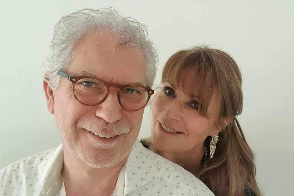Ivo Lantain en zijn partner Anuscka. Ze kregen allebei kanker met drie maanden verschil.