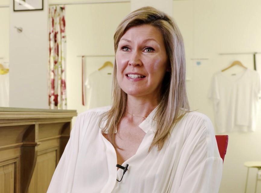 Ellen Dankers uit Vorselaar maakt haar droom van een eigen lingeriezaak waar.