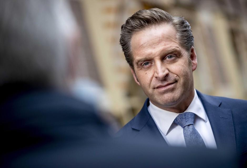 Nederlandse minister van Volksgezondheid Hugo de Jonge.