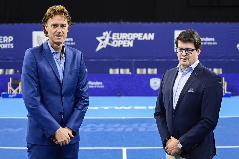 Norman (links) en Puelinckx (rechts)